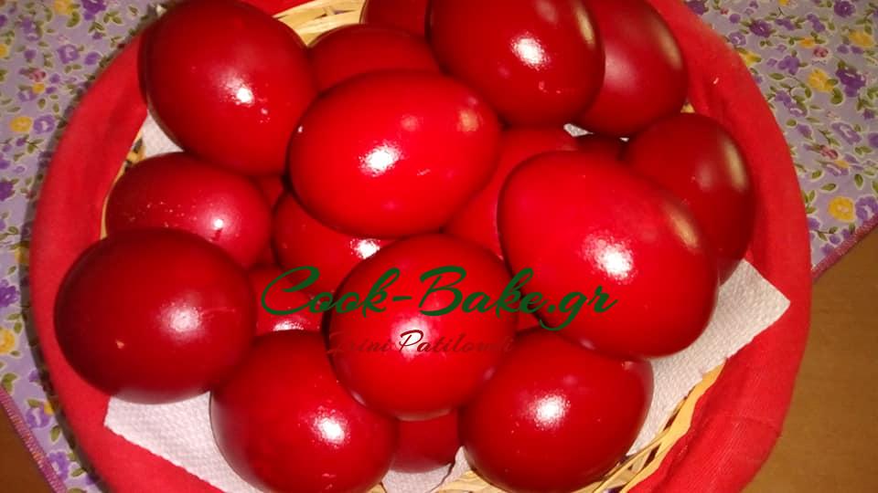 Κόκκινα Αυγά και Έθιμο Πάσχα