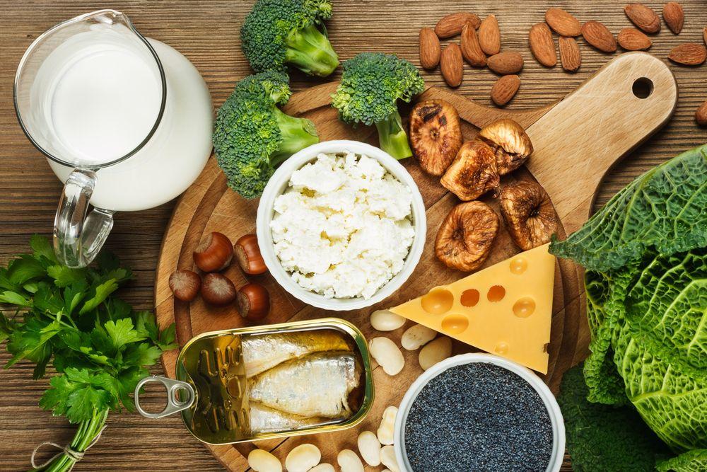 Πηγές Ασβεστίου στα Τρόφιμα