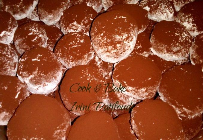 Κουραμπιέδες σοκολάτας Ειρήνης, πλούσια γεύση