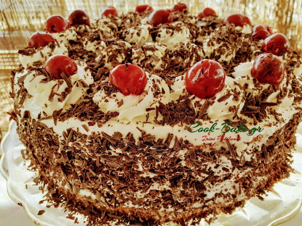 Μπλακ Φόρεστ τούρτα γρήγορη, εύκολη και τεμπέλικη